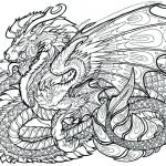 Dragon Coloring Books for Adults Amazing Dragon Coloring Pages at Getdrawings