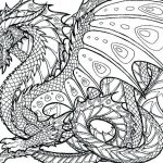 Dragon Coloring Books for Adults Amazing Realistic Dragon Coloring Page – Palmarosa