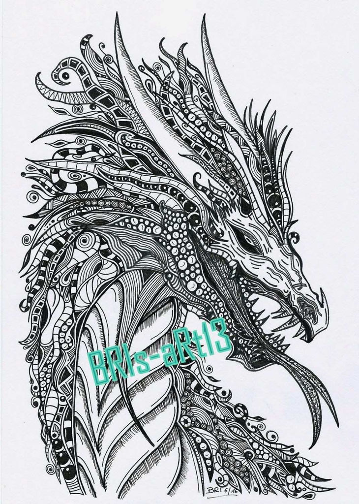 Dragon Coloring Books for Adults Inspired Coloring Ideas Coloringages Real Dragons New Realistic Dragon