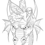 Dragon Coloring Books for Adults Inspiring Fantasy Dragon Coloring Pages at Getdrawings