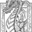 Dragon Coloring Pages for Adults Pretty Coloring Pages Real Dragons Awesome New Zentangle Coloring Pages
