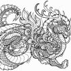 Dragon Coloring Pages Printable Brilliant Phoenix Coloring Pages Free Dragon Coloring Pages for Adults Printable