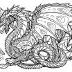 Dragon Coloring Pages Printable Pretty Coloring Page Best solutions Dragon Coloring Book for Adults