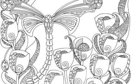 Dragonfly Coloring Book Brilliant Free butterfly Mandala Coloring Pages Lovely Free butterfly Coloring