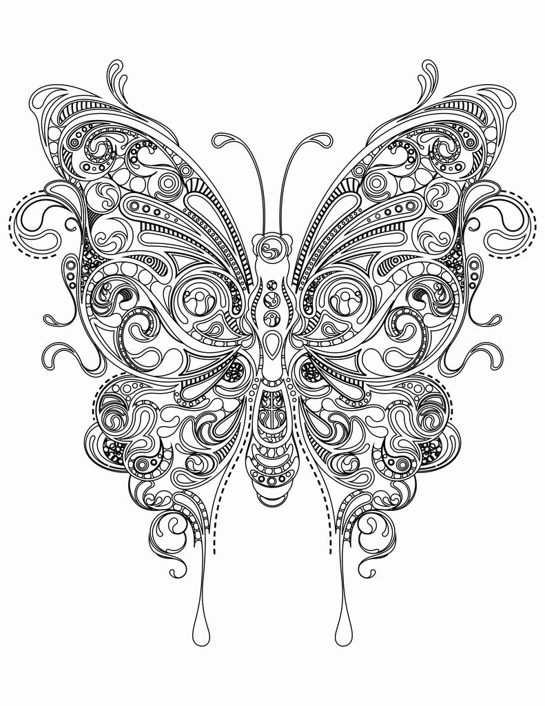 Dragonfly Coloring Book Inspired butterfly Coloring Pages