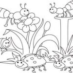 Dragonfly Coloring Book Inspired Insect Coloring Pages Fabulous 13 I is for Insects Coloring Page