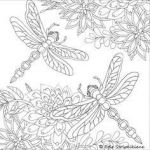 Dragonfly Coloring Book Marvelous 163 Best Coloring Pages Images In 2019