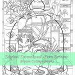 Dragons Pictures to Print Unique Adult Coloring Page Digi Stamp Dragons Line Art Printable Download