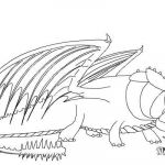 Dragons Pictures to Print Unique How to Draw Skullcrusher From How to Train Your Dragon 2 Step 8