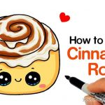 Draw so Cute Creative How to Draw A Cinnamon Roll Cute and Easy