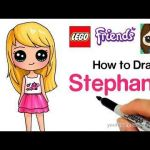 Draw so Cute Excellent How to Draw Lego Friends Stephanie