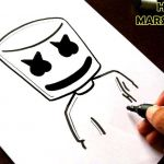 Draw so Cute Exclusive How to Draw Marshmallow Dj