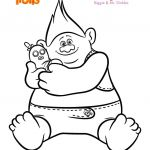 Dreamworks Trolls Coloring Book Inspiring Troll Coloring Pages