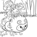 Dreamworks Trolls Coloring Book Inspiring Troll Moana Coloring Pages Print Coloring