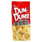 Dum Mee Mee Awesome Dum Dums Cr Me soda Lollipops Party Yellow 75 Pieces Per Bag Pack