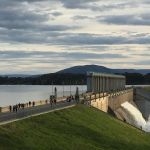 Dum Mee Mee Excellent Water Meeting the Dam Wall Picture Of Lake Hume Albury Tripadvisor