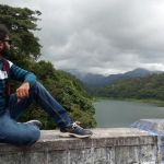 Dum Mee Mee Exclusive Me Watching Water and Climate Picture Of Nirar Dam Valparai