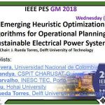 Dum Mee Mee Wonderful Emerging Heuristic Optimization Algorithms for Operational Planning