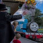 Easter Thomas the Train Exclusive Waving Thomas In at Ropley Station Day Out with Thomas Picture