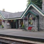 Easter Thomas the Train Inspired Castletown Railway Station