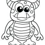 Easy Halloween Coloring Pages Inspired Halloween Coloring Page Free – Contentpark