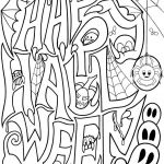 Easy Halloween Coloring Pages Inspiring Print Out Coloring Pages Adults at Getdrawings