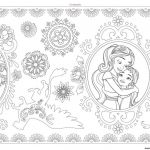 Elena Of Avalor Coloring Book Exclusive Coloring Book World Adult Disney Coloring Pages Template