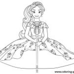 Elena Of Avalor Coloring Pages to Print Creative 13 Elena Avalor Coloring Pages Free Aias