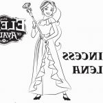 Elena Of Avalor Coloring Pages to Print Inspirational Elena Avalor Coloring Pages