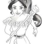 Elena Of Avalor Coloring Pages to Print Pretty 117 Best Coloring Pages Images In 2018