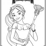 Elena Of Avalor Free Printables Marvelous Elena Avalor Coloring Pages