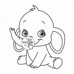 Elephant Coloring Book Best Elephant Coloring Luxury Cute Baby Elephant Coloring Pages Flower