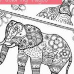Elephant Coloring Book Excellent 23 Elephant Coloring Pages to Print Free
