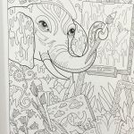 Elephant Coloring Book Inspiration Elegant Printable Coloring Pages for Adults Fvgiment