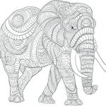 Elephant Coloring Book Inspiration Elephant Printable Coloring Pages Baffling Elephant Coloring Pages