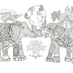 Elephant Coloring Books Beautiful Hat Coloring Page Awesome Printable Coloring Pages for Moana