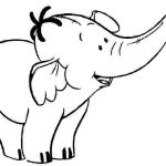 Elephant Coloring Books Inspiration for Children to Colour Beautiful Good Coloring Beautiful