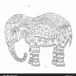 Elephant Coloring Books Inspired 23 Elephant Mandala Coloring Pages Download Coloring Sheets