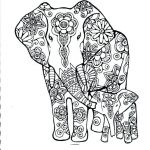 Elephant Coloring Pages for Adults Awesome Coloring Pages for Elephants – Wealthtutor
