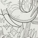 Elephant Coloring Pages for Adults Best Free Elephant Coloring Pages Best Elephant Adult Coloring Pages