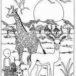 Elephant Coloring Pages for Adults Brilliant Luxury African Animals Savanna Coloring Page – Howtobeaweso