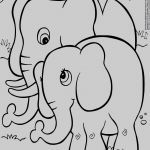 Elephant Coloring Pages for Adults Excellent Elephant Coloring Kanta