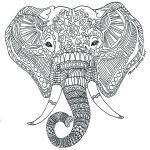 Elephant Coloring Pages for Adults Inspiration Coloring Pages for Elephants – Wealthtutor