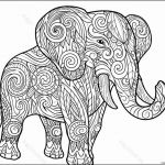 Elephant Coloring Pages for Adults Inspirational Coloring Design Coloring Design Phenomenal Elephant Adults Picture