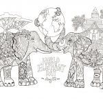 Elephant Coloring Pages for Adults Inspirational Elephant Adult Coloring Pages Amazing for Kids as Well 2