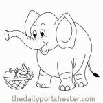 Elephant Coloring Pages for Adults Inspired Elephant Coloring Pages Beautiful Coloring Elephant Awesome Color