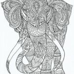 Elephant Coloring Pages for Adults Inspiring Elephant Printable Coloring Pages Great Elephant Coloring Pages for