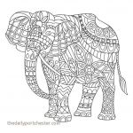 Elephant Coloring Pages for Adults Pretty Elephant Coloring Pages Beautiful Coloring Elephant Awesome Color
