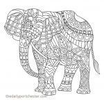 Elephant Coloring Pictures Creative Elephant Coloring Pages Beautiful Coloring Elephant Awesome Color