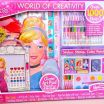 Elsa and Anna Coloring Book New Coloring toys Giant Disney Princesses Activity Kit with Colors